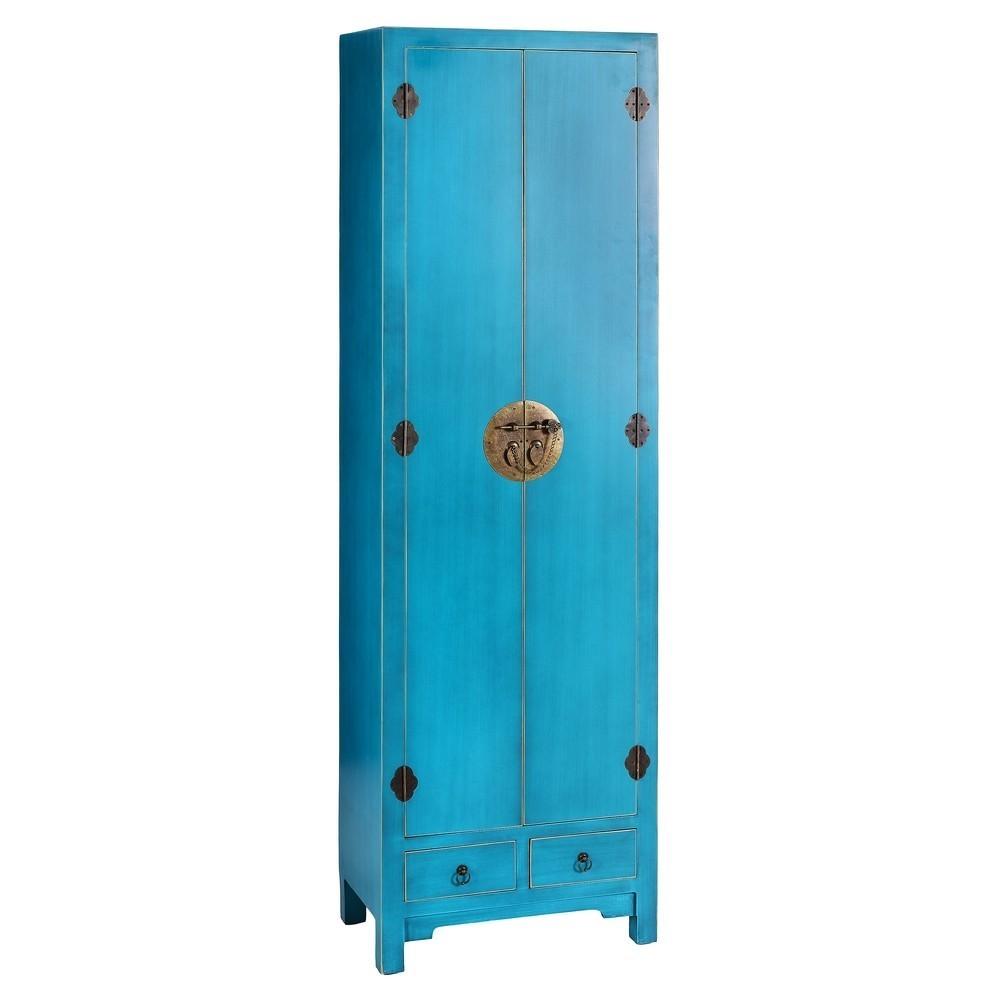 Artesanato Com Garrafa Pet Na Educação Infantil ~ Armario Oriental 2 Puertas 2 Cajones Azul Te Imaginas