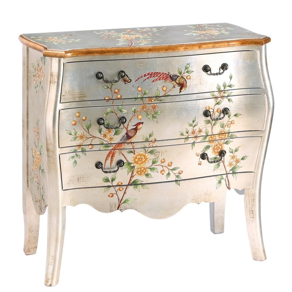 C moda plata p jaros te imaginas - Muebles pintados en plata ...