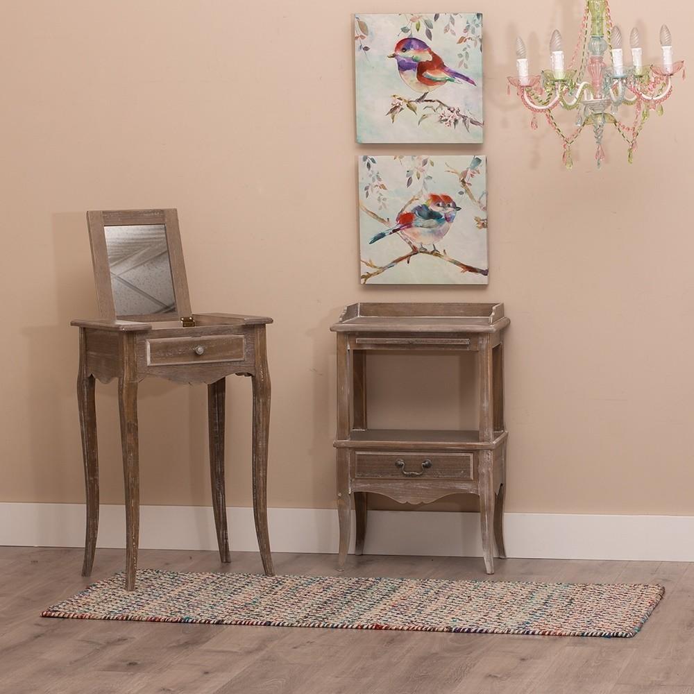 Joyero mueble natural peque o te imaginas for Joyero mueble