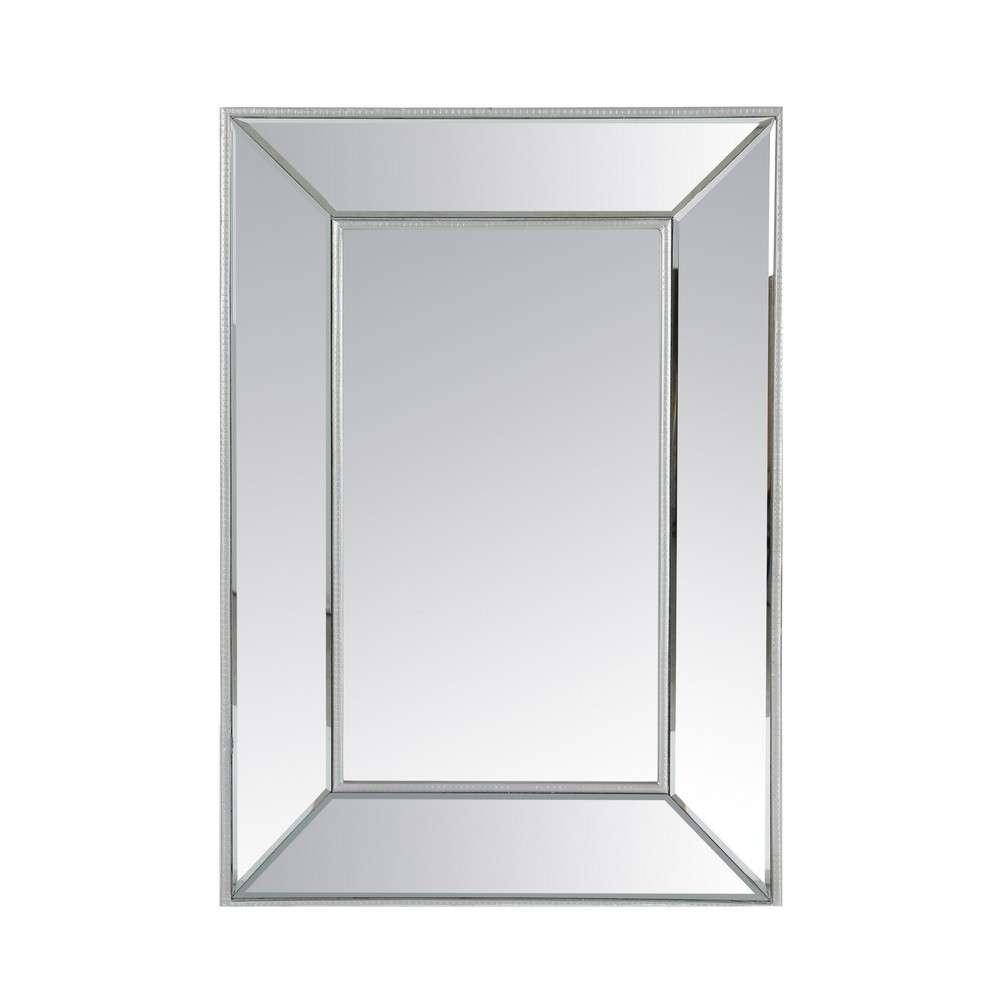 Espejo marco plateado espejo con marco plateado espejo marco de madera conjunto de espejos - Espejos marco plateado ...