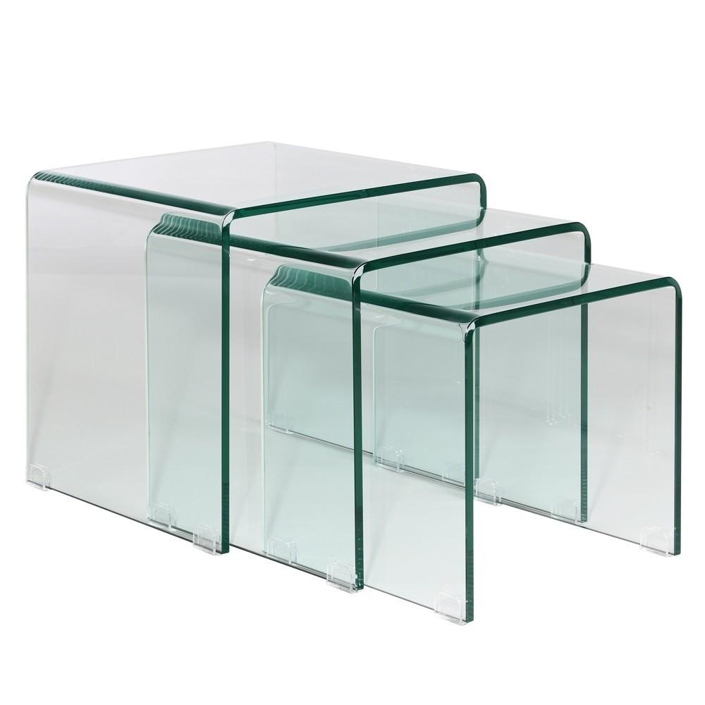mesas nido de cristal dise os arquitect nicos