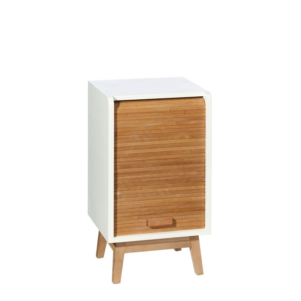 Mueble persiana natural blanco te imaginas for Muebles pino natural