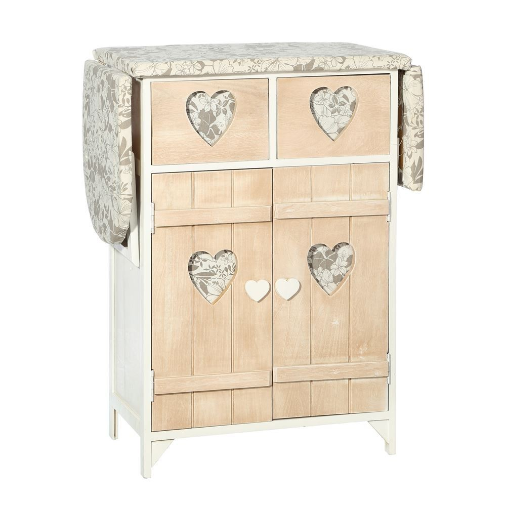 mueble planchador natural blanco coraz n te imaginas