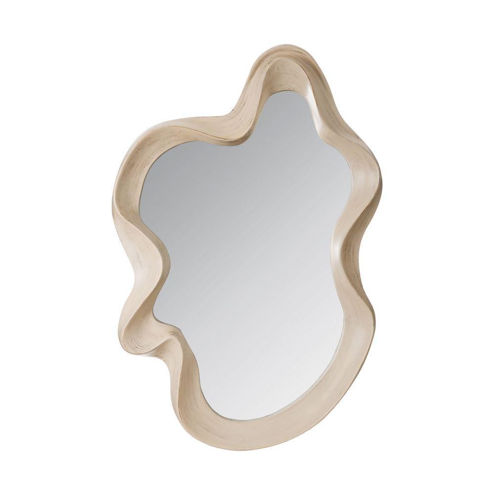 Espejo blanco envejecido moderno te imaginas for Espejo blanco envejecido