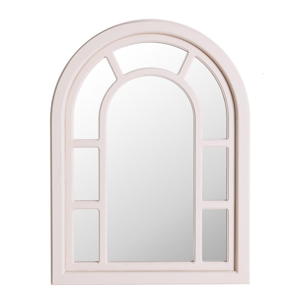 Espejo ventana arco blanco te imaginas for Espejos de pared originales