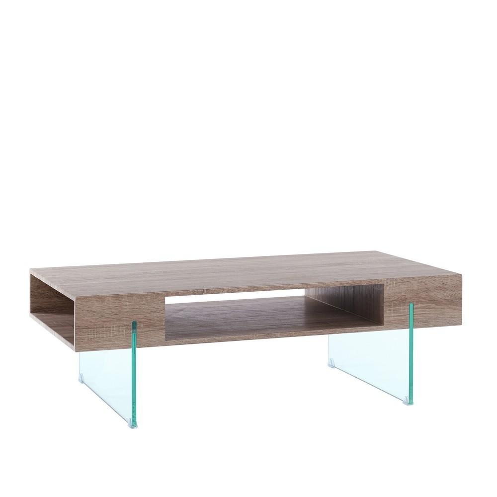 mesa centro moderna moka cristal
