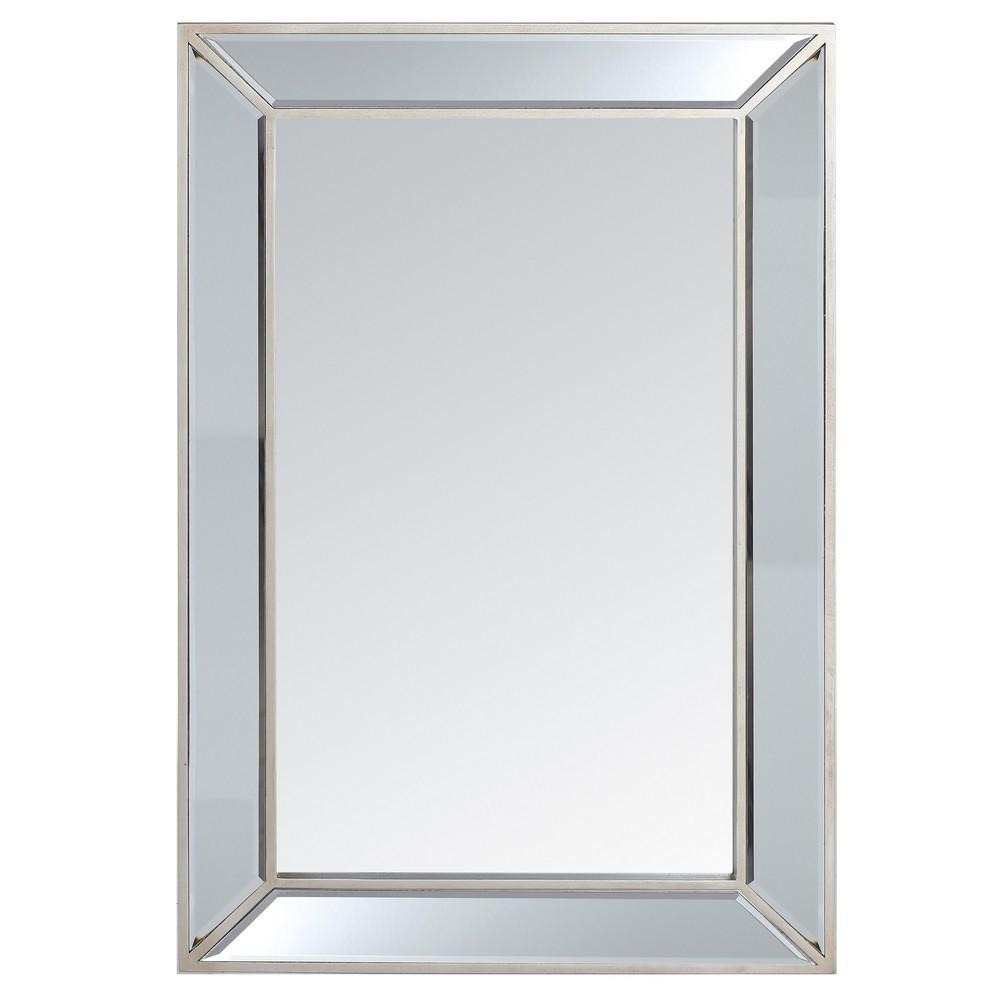 Espejo marco cristal 60x90 barato portes gratis te for Espejos de pared baratos online