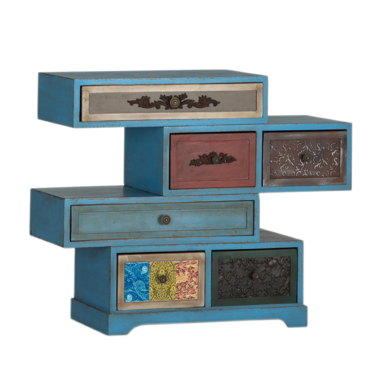 Mueble apilable cajones vintage portes gratis te for Mueble muteki 5 2