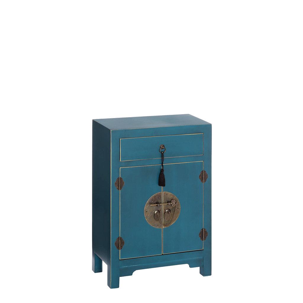 Aparador Blanco ~ Mueble Oriental Azul 1 Cajón u00a1Barato! Te Imaginas