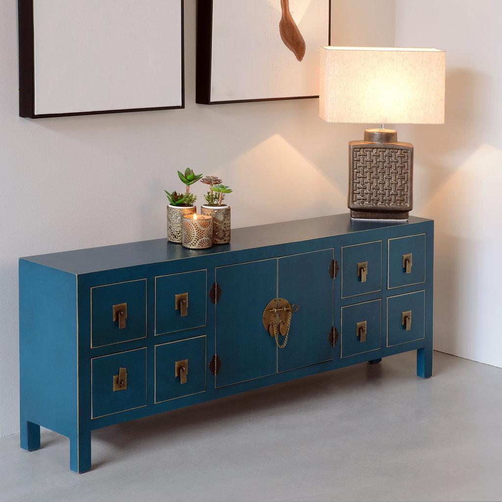 mueble tv oriental azul barato te imaginas