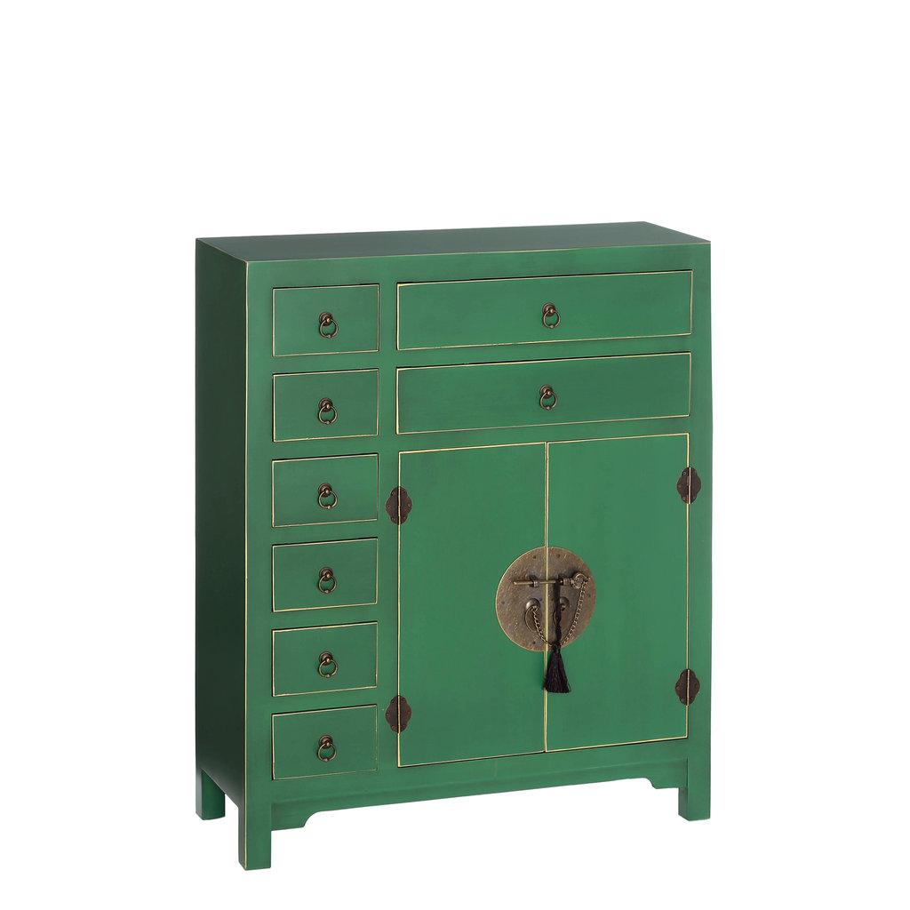 Mueble oriental verde 8 cajones te imaginas - Mueble oriental madrid ...