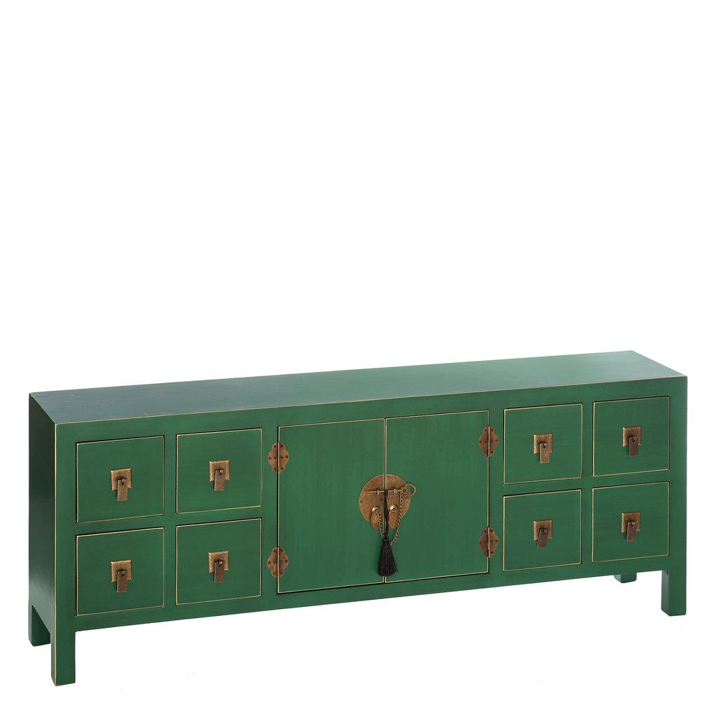 Mueble tv oriental verde barato te imaginas for Muebles chinos baratos online