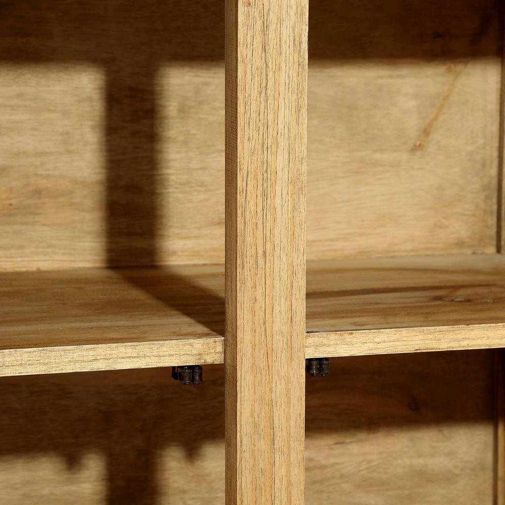 Alacena 3 puertas natural madera portes gratis te for Puertas madera natural
