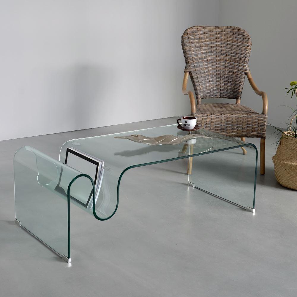 Mesa centro cristal templado barato portes gratis te - Mesas cristal templado ...