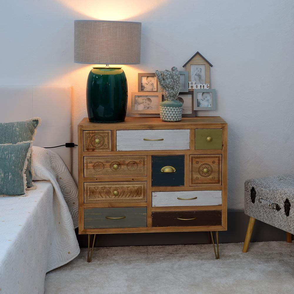 Mueble recibidor 10 cajones vintage portes gratis te - Muebles online vintage ...