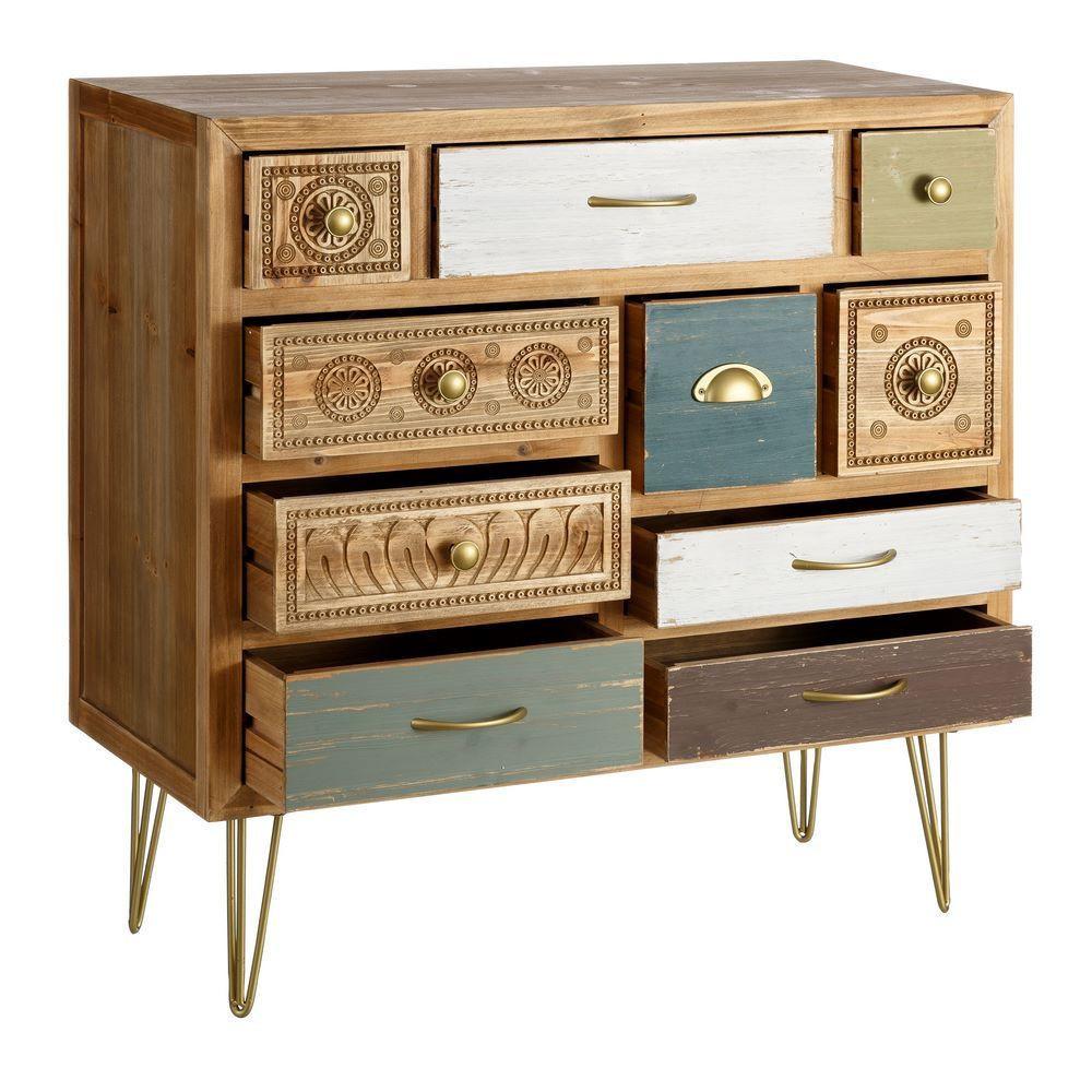 Mueble recibidor 10 cajones vintage portes gratis te - Mueble recibidor vintage ...