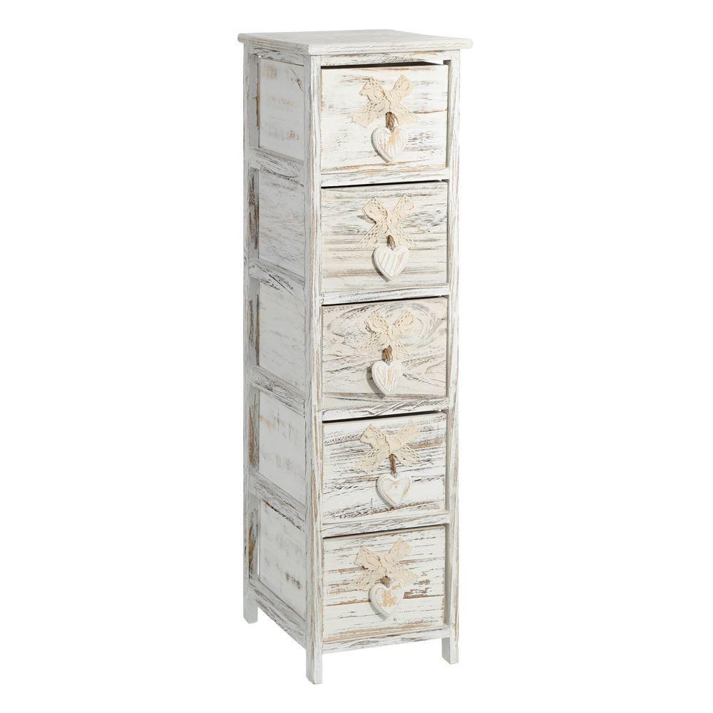 Mueble 5 cajones estrecho barato portes gratis te imaginas - Mueble bano estrecho ...