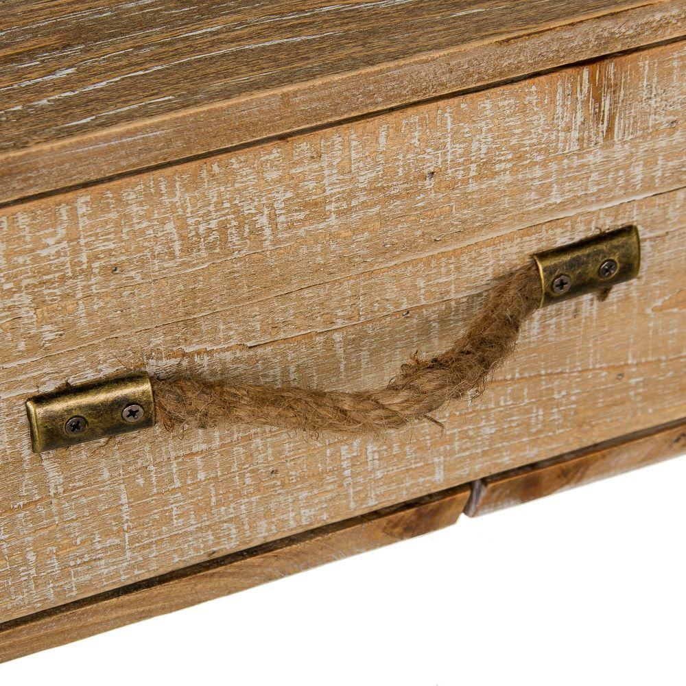 Consola natural industrial 3 cajones portes gratis te - Consola industrial ...