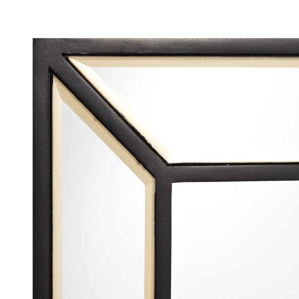 Espejo Marco Negro Cristal 60x90 |Portes Gratis|- Te Imaginas...