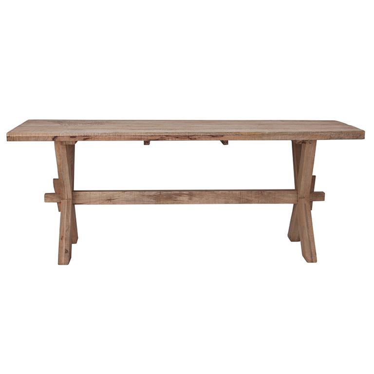 Mesa comedor madera natural barato portes gratis te - Mesas comedor madera natural ...