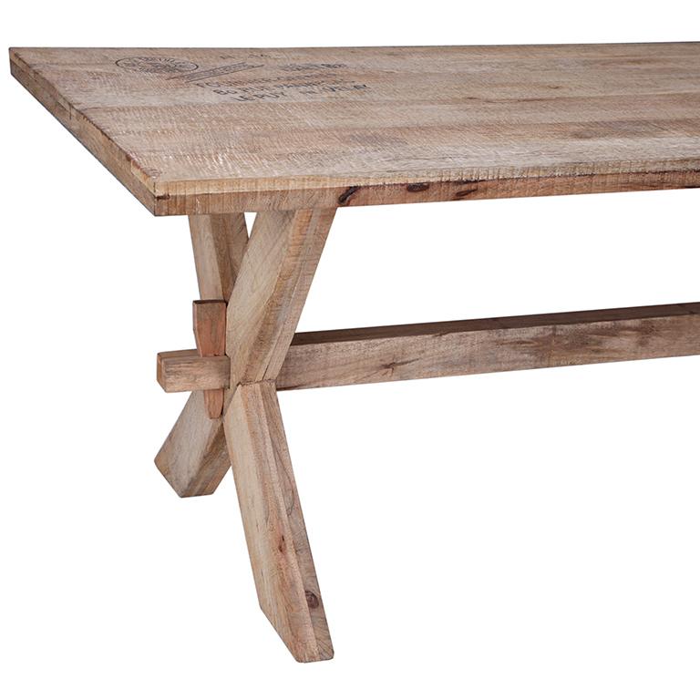 Mesa comedor madera natural barato portes gratis te for Mesas de comedor madera natural
