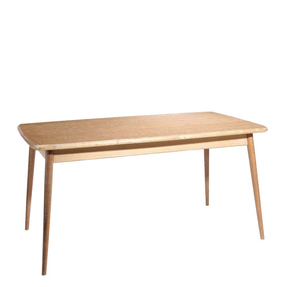 mesa comedor madera natural - Muebles Nordicos Baratos