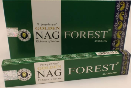 Incienso Golden Forest Nag Champa Varillas